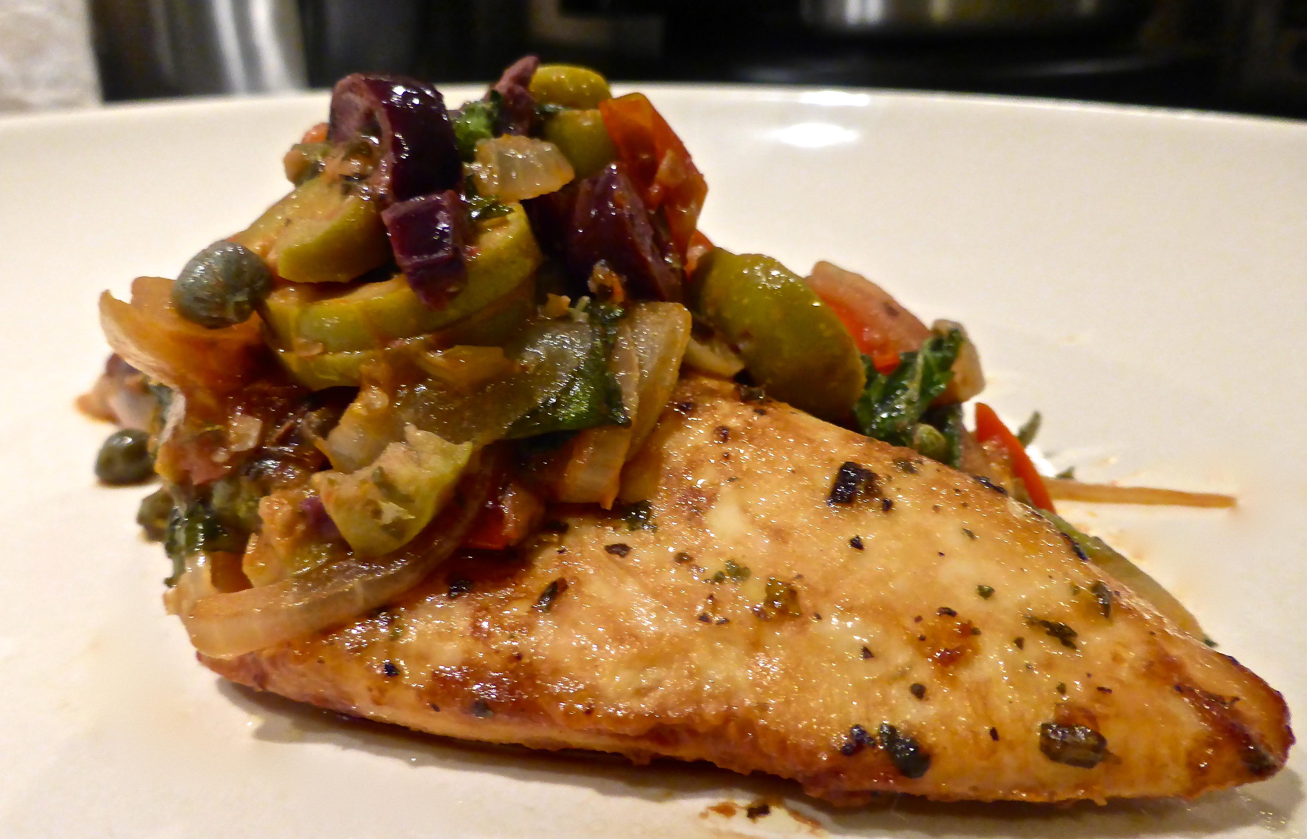 Baked Mediterranean Chicken | My Cosy Corner